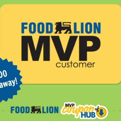 The groceries are on us: Enter for a chance to win $100 to Food Lion!