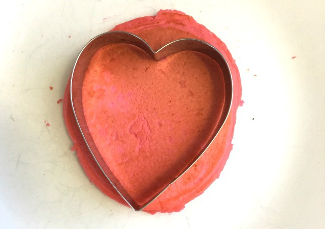 Easy heart-shaped Valentine's Day pancakes