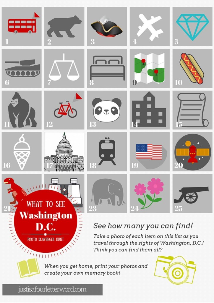 Planning a family vacation to Washington DC is a bucket list item! Can't wait to try these fun photo scavenger hunt ideas for kids. Full of tips and activities for everyone!