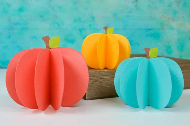 Download Easy Fall Paper Pumpkin Crafts for Kids to Decorate