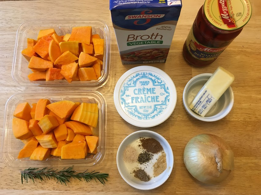 Butternut Squash Soup the Easy Way