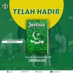 """Telah Terbit Jurnal Justisia Edisi 50: """"Teoekologi"""""""