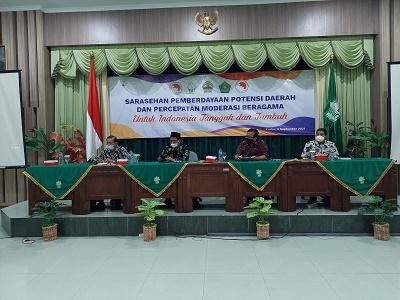 FKUB Provinsi Jawa Tengah Gelar Sarasehan Guna Percepat Moderasi Beragama