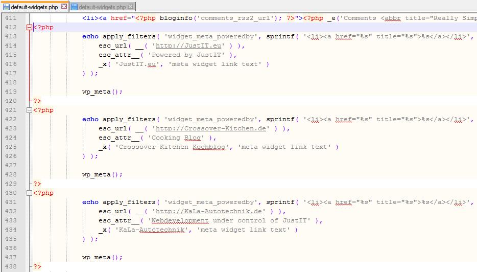 WordPress_default-widgets.php