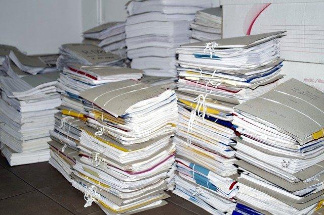 acta requerimiento depósito documentación