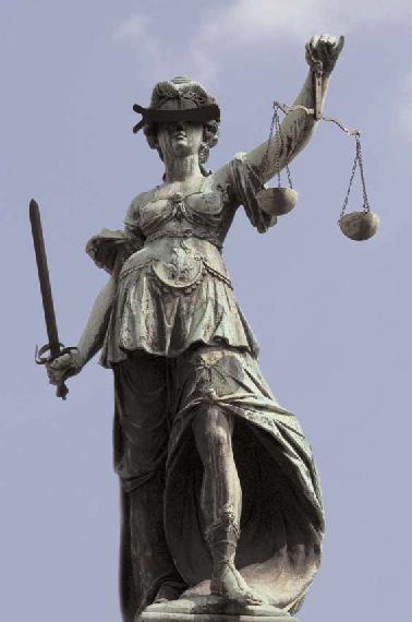 justitia in voller Pracht