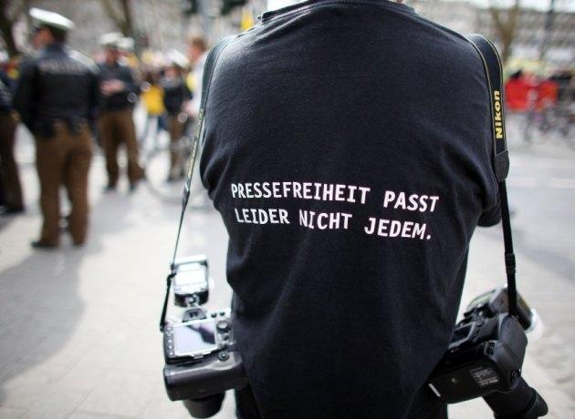 Die Pressefreiheit ist ein hohes Gut. Auch Bielefeld sollte sich daran gewöhnen.