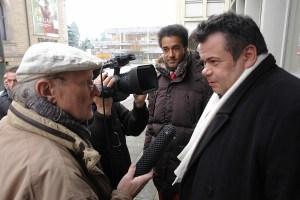 Rechtsanewalt Thomas Sachenbrecker im Gespräch mit Journalist Klaus Overhoff