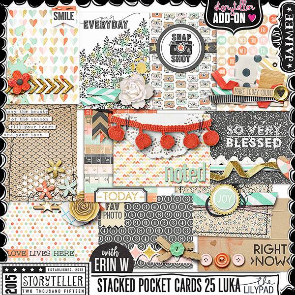 Storyteller Luka Ready-To-Go Stacked Pocket Cards vol 25