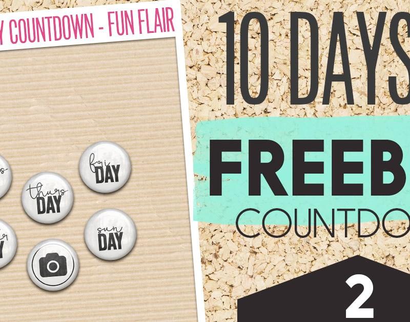 Freebie Countdown – Day 2 Fun Flair