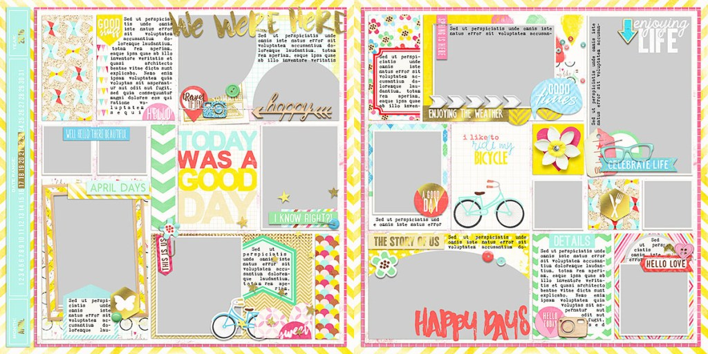 Ready To Go Pocket Page Templates 3