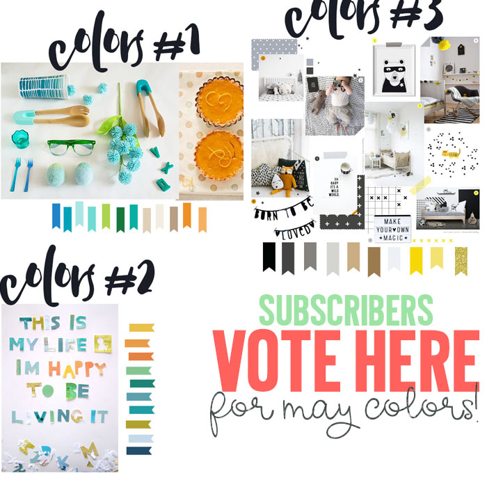 vote for may colors