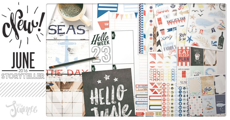 Story Planner Kit June now in shop!