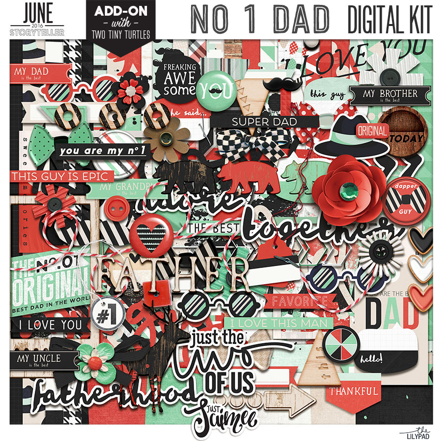 No 1 Dad Digital Kit
