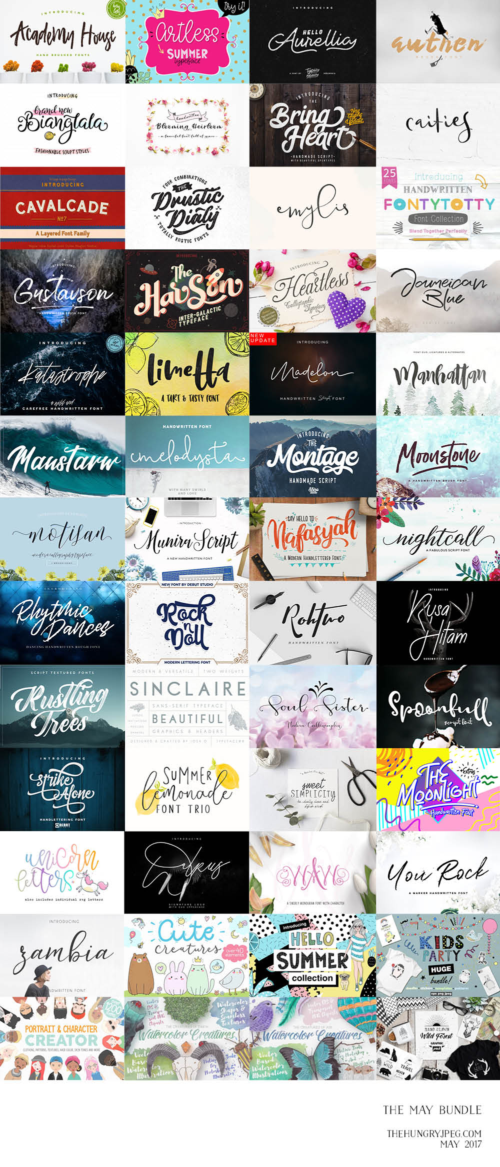 May Font Bundle