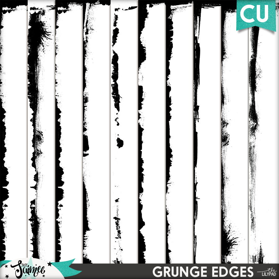 May Commercial Use Subscription Grunge Edges
