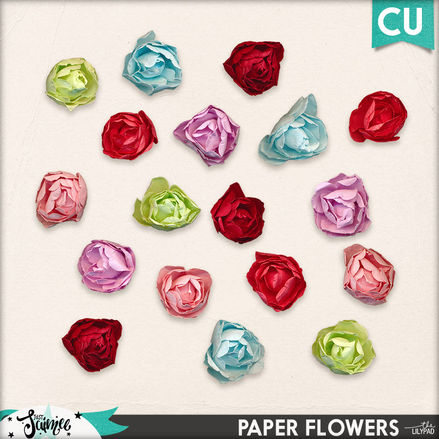 May Commercial Use Subscription Paper Roses
