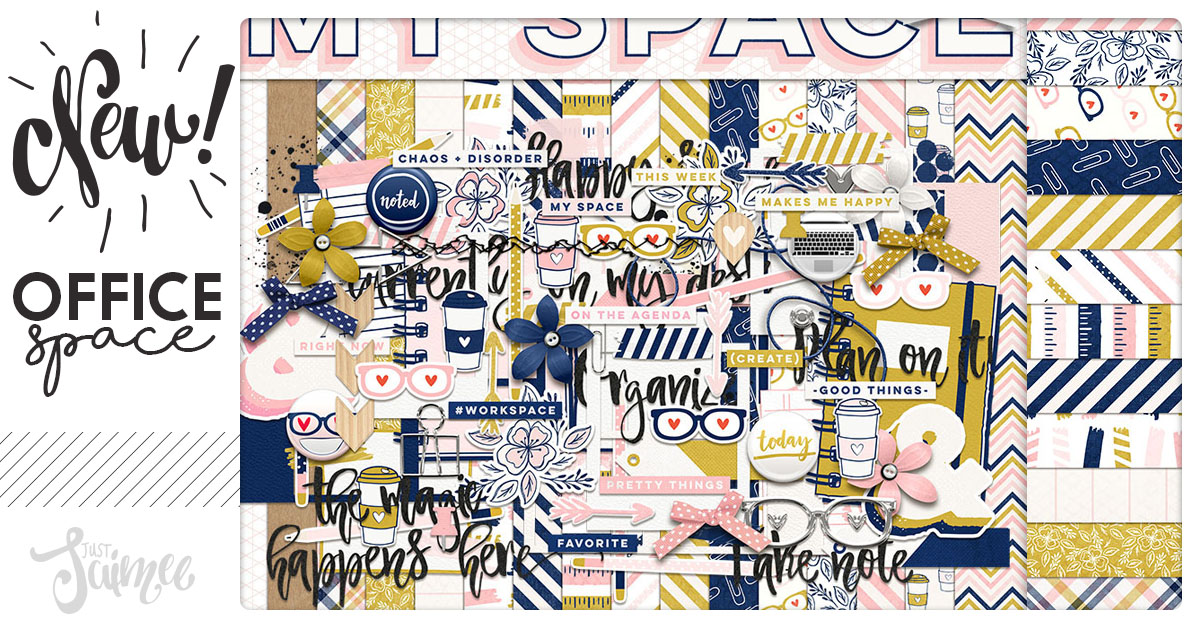 Office Space Digital Scrapbook Kit