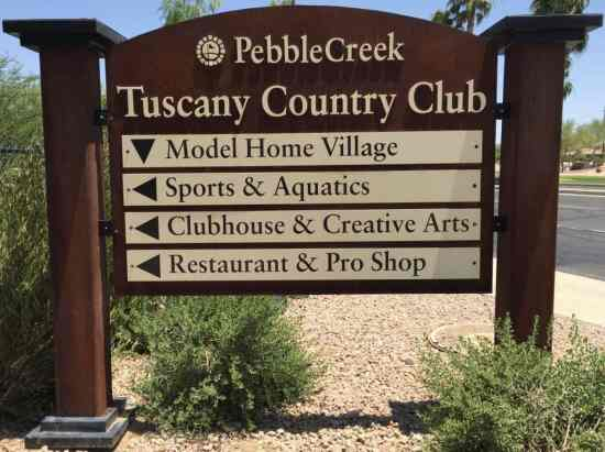 Welcome to Tuscany Falls PebbleCreek in Goodyear AZ