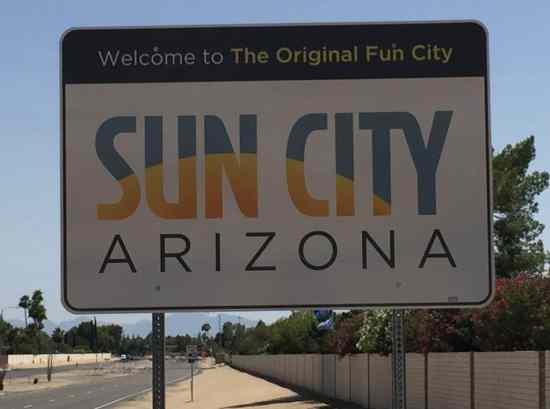 Welcome to Sun City Arizona 55 Plus retirement community