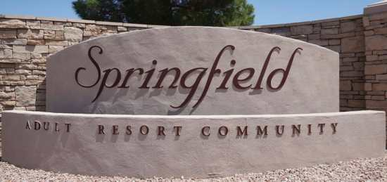 Springfield 55+ gated Community