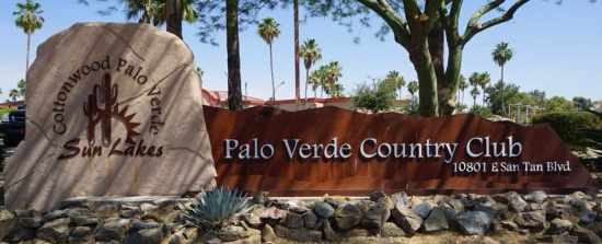 Welcome to Palo Verde Sun Lakes