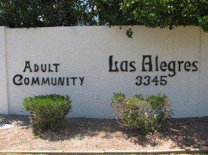 Welcome to Las Alegres 55 plus community