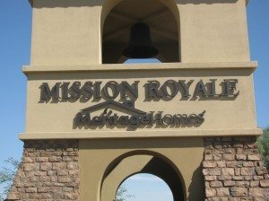 Welcome to Mission Royale Arizona Retirement Community