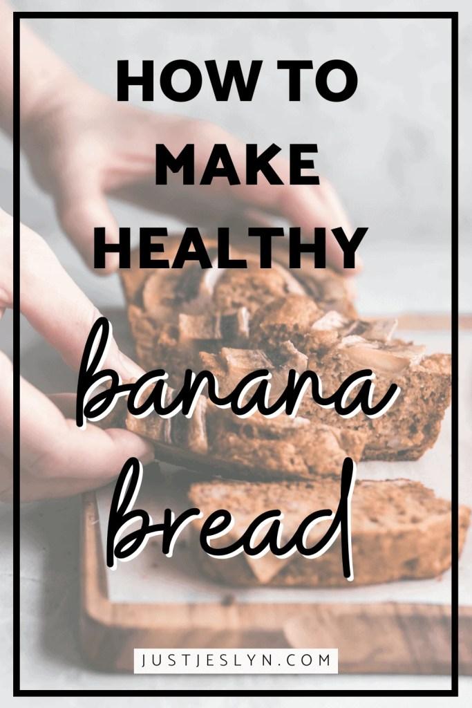 Simple Flourless Banana Bread | justjeslyn.com