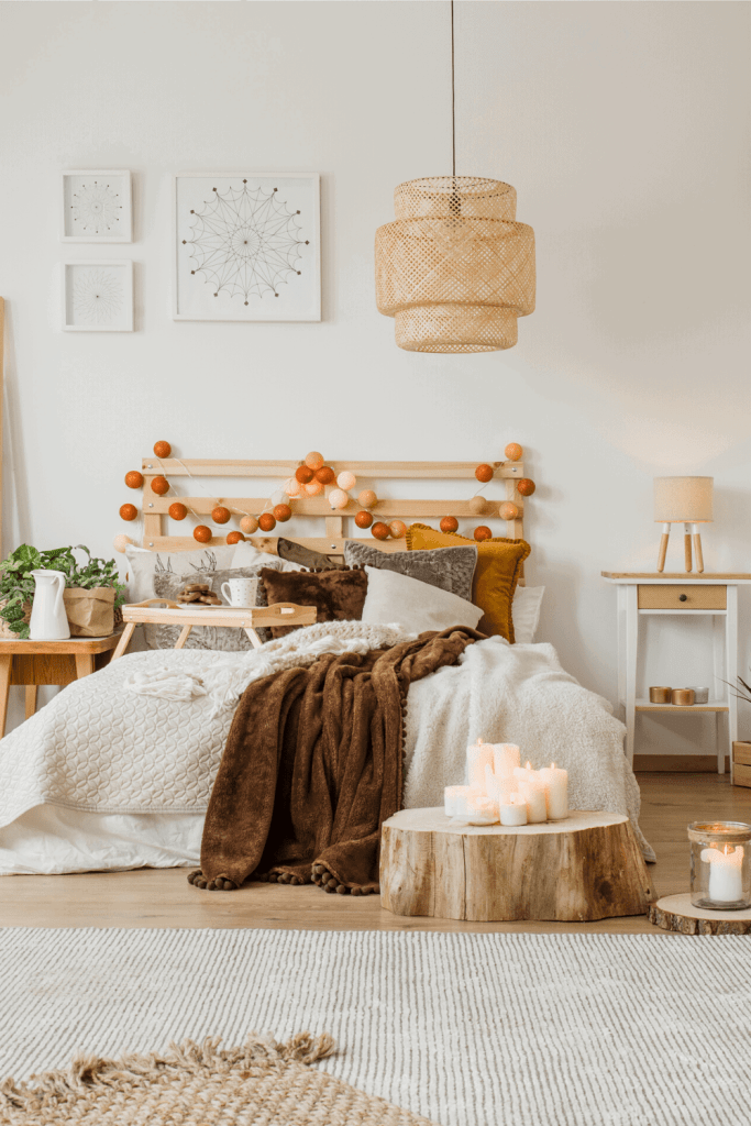 How to Create the Boho Bedroom of Your Dreams - Candles - justjeslyn.com