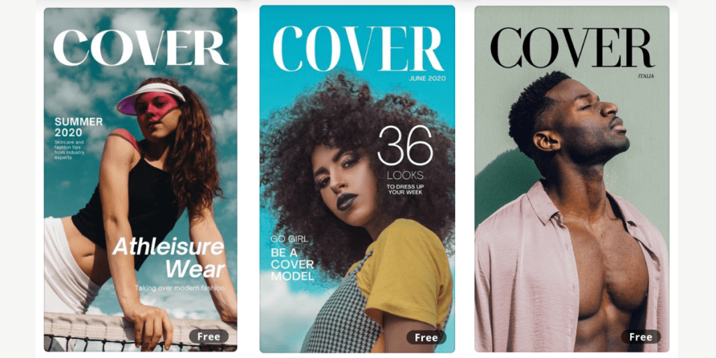 How To Create A Free Vogue Cover Template In Seconds Just Jes Lyn
