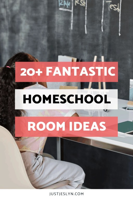 20+ FANTASTIC Homeschool Room Ideas to Try This Fall | Just Jes Lyn
