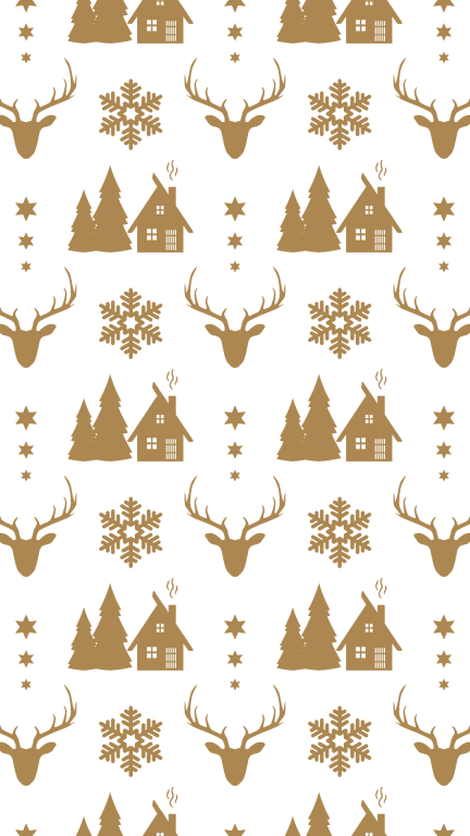 Gold Christmas Pattern