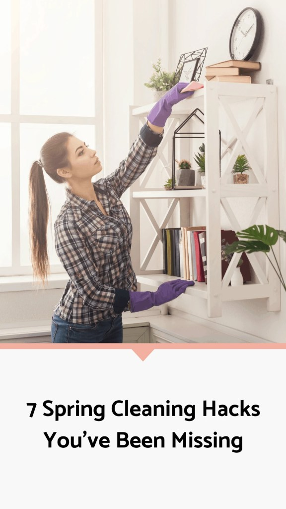 7 Spring Cleaning Hacks You've Been Missing (#5 Will Change Your Life!) | Just Jes Lyn
