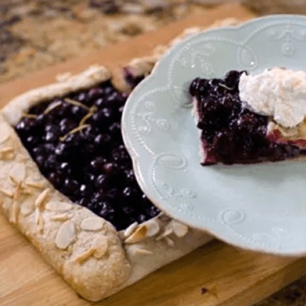 Simple Blueberry Tart