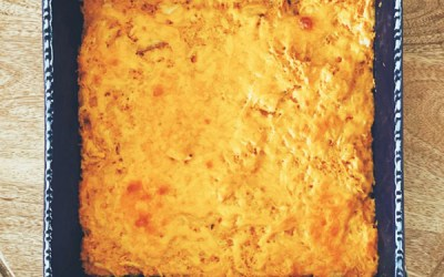 Low Carb Buffalo Chicken Bake That's Low-Fat Too!
