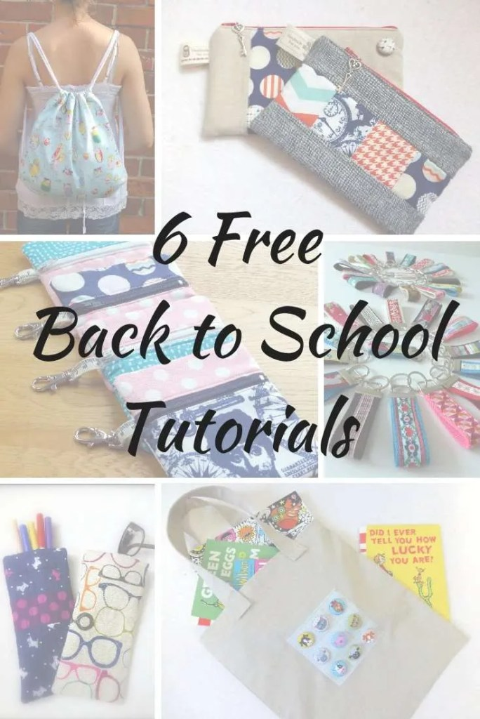 6 Free Back to School Tutorials
