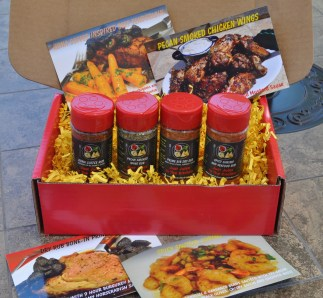 Spice Box Photo with Recipe Cards