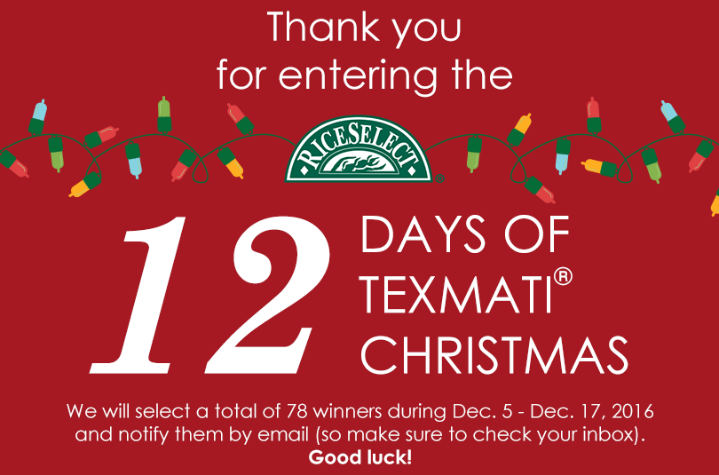 12 Days Of Texmati Christmas