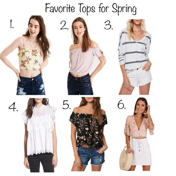 Favorite Tops for Spring