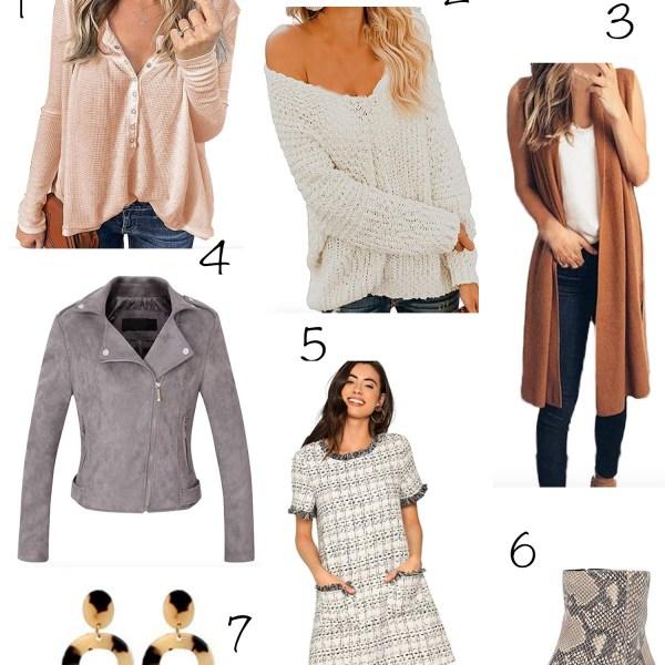 Amazon Fall Wardrobe Wishlist