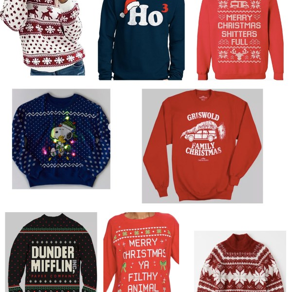 The Ugly Christmas Sweaters You Need This Christmas