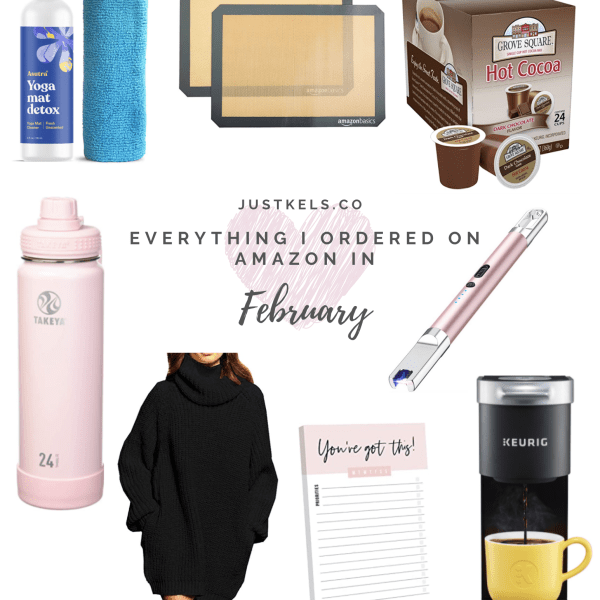 What I Bought From Amazon | February