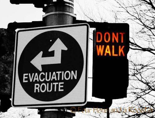 how to evacuate