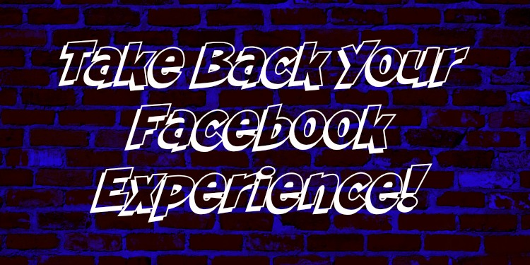make facebook yours again