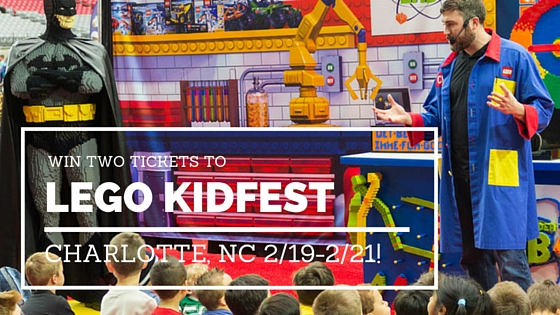Win two tickets to LEGO KidFest in Charlotte, NC!