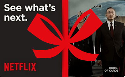 Looking for the best gift you can give? Give a Netflix gift card!