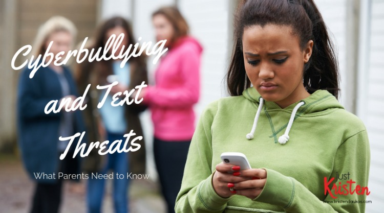 Cyberbullying and text threats - what parents need to know