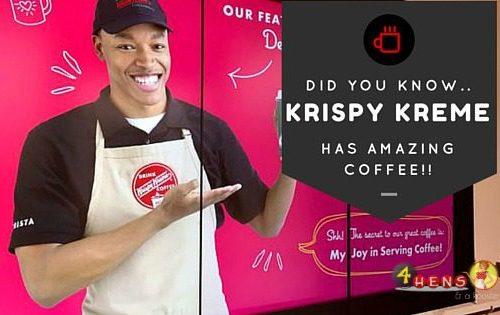 Introducing Krispy Kreme Coffee shops