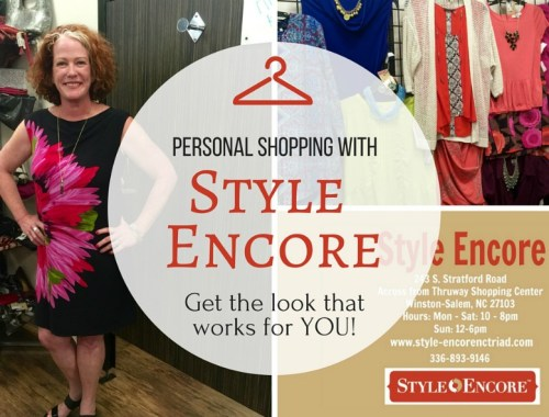 The personal shopping experience at Style Encore takes the pain and guess work out of getting trendy!